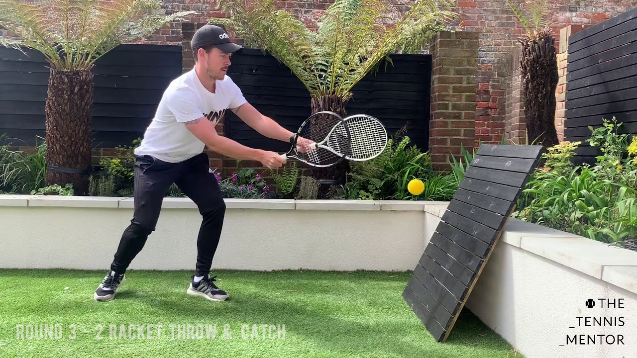 tennis drills for home